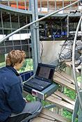 Technik für die WebCam Übertragung auf fem Eichbergturm